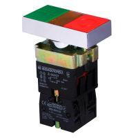 "Кнопка двойная XB2-BW8375 с подсветкой ""Старт-Стоп"" - фото"