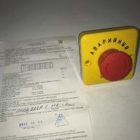 Пост управления кнопочный ПКЕА-822А-1 О 2 - фото №1