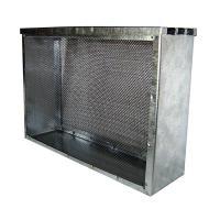 Трёхрамочный сетчатый изолятор под рамку Рут - фото