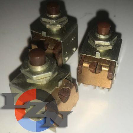 Кнопка малогабаритная КМ2-1 (двухполюсная) - фото №2
